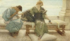 Ask me no more....for at a touch I yield, 1886_Alma-Tadema, Sir Lawrenc