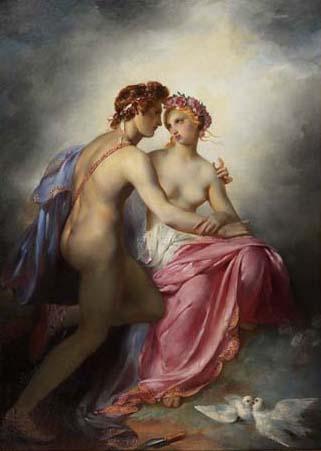 Guerin, Pierre-Narcisse - Venus et Adonis