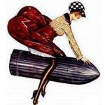 Woman Riding Vibrator
