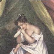 Nicolas Tassaert-The Cautious Lover-c 1860-crop