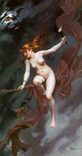 Luis Ricardo Falero - The Witches Sabbeth